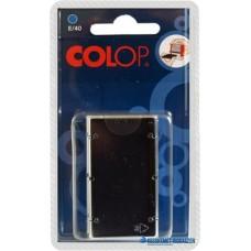 Bélyegző cserepárna, 2 db/bliszter, COLOP 'E/40', fekete