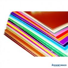 Dekorkarton, 1 oldalas, 48x68, középbarna