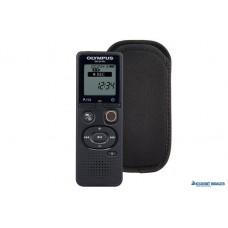 Diktafon, digitális, 4 GB memória, CS131 tokkal, OLYMPUS 'VN-541PC', fekete
