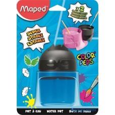 Ecsettál, műanyag, 2 rekeszes, MAPED
