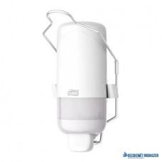 Folyékony szappan adagoló, S1 rendszer, Elevation, TORK 'Könyökkaros', fehér