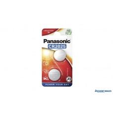 Gombelem, CR2025, 2 db, PANASONIC