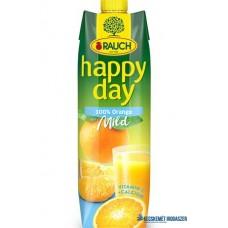 Gyümölcslé, 100%, 1l, RAUCH 'Happy day', narancs mild C vitaminnal