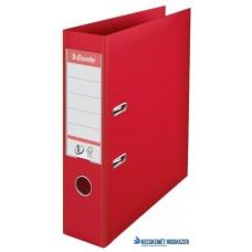 Iratrendező, 75 mm, A4, PP, élvédő sínnel, ESSELTE 'Standard', piros