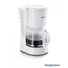 Kávéfőző, filteres,  SEVERIN,  fehér