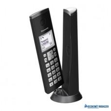 Telefon, vezeték nélküli, PANASONIC, 'KX-TGK210PDB DECT', fekete